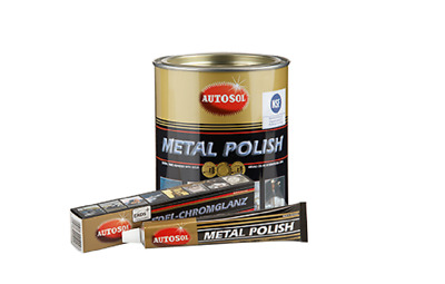 3x AUTOSOL Metal Polish Edel-Chromglanz Politur 75 ml  (6,80 EUR/100 mL)