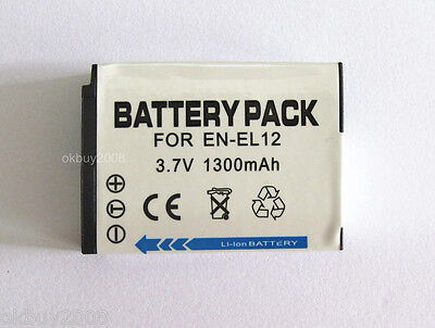 Battery for Nikon Coolpix S6000 S6100 S6150 S6200 S6300 S9300 Digital Camera