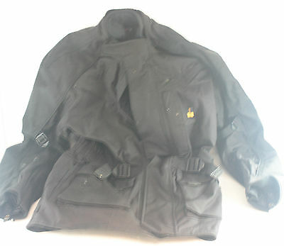 Assorted biker clothing. Includes Gloves, Trousers and a Coat [2026-111]