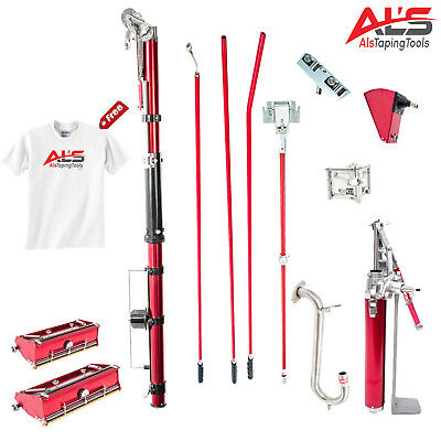 Level5 Full Set of Automatic Drywall Taping Tools w/ FREE Extra Pump