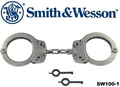 SMITH & WESSON Nickel Tactical Law Enforcement Handcuffs 10088
