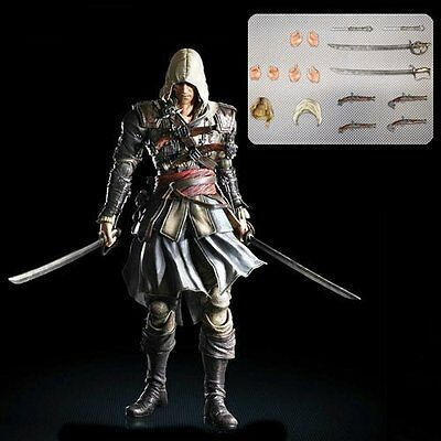 *NEW* Assassin's Creed IV Black Flag Edward Kenway Play Arts Kai Action Figure