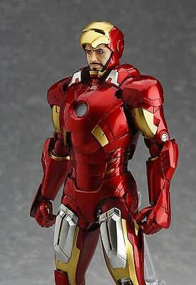 Max Factory Figma EX-018 Marvel The Avengers Ironman Mark 7 Full Spec