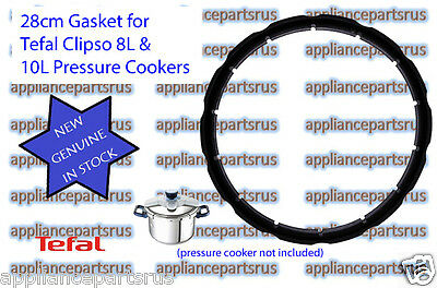 Tefal CLIPSO ONE Pressure Cooker Lid Gasket Part SS980970 - NEW - GENUINE