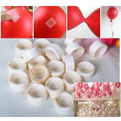 10MM Clear Double Sided Tape Dots Craft Scrap Booking Sticky Circles Roller