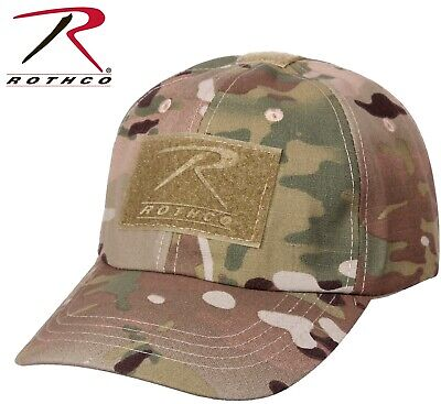 Multicam Camouflage Military Low Profile Adjust Tactical Hat Operator Cap 4362