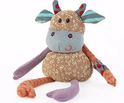 Intelex Warmies Cow Microwavable Soft Toy Heatable Lavender Scented
