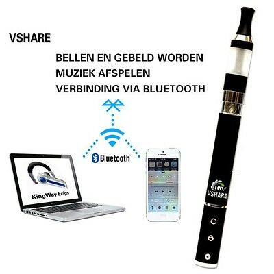 BLUETOOTH Electronic Vaporizer Hookah Pipe Pen as Phone/Music player RED COLOR