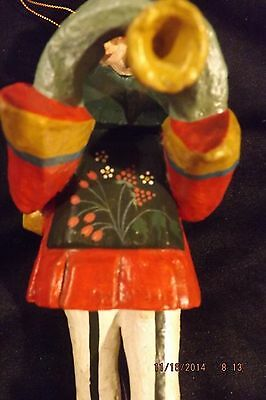 "House of Hatten Denise Calla 12 days of Christmas PIPERS PIPING 9"" ornament 1989"
