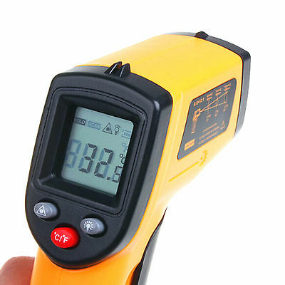 Original Non-contact Laser Infrared Thermometer Temperature Gun Pyrometer GM320