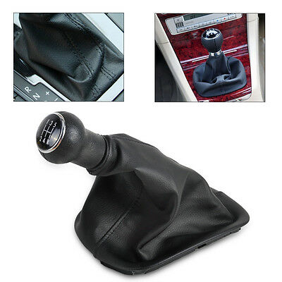 For Vw Passat B5/b5.5 1996-2005 5 Speed Pu Leather Gear Shift Knob Gaitor Boot