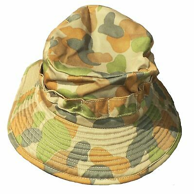 Australian BUSH HAT Auscam CAMO ADULTS - All sizes - ADVISE SIZE AT CHECK OUT