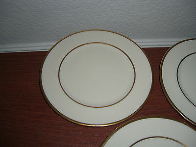 VINTAGE SET OF 3 FLINTRIDGE MONTROSE BREAD & BUTTER PLATES