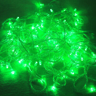Green 32.8FT 10M 100 LED String fairy Light For Decoration Christmas Xmas party