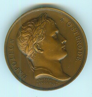 Medaille Napoleon  1807  Osterode