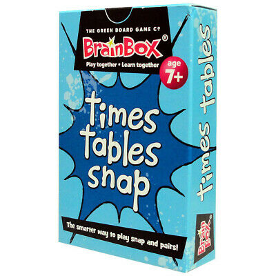 Times Tables Snap Cards - Children's Fun Maths Multiplication Snap Game