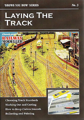 Peco SYH 3 The Railway Modeller Book Laying The Track New 8 page Booklet