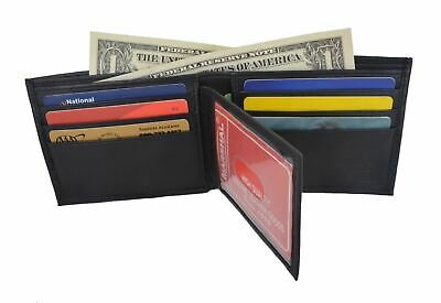 Leather Wallet Multi Card High Capacity Compact Bifold Handmade