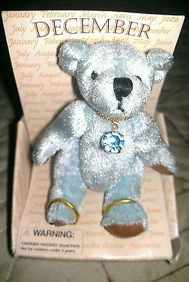 Russ December Birthstone Bear Turquiose