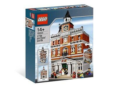 BRAND NEW, RARE, SEALED LEGO # 10224 TOWN HALL, RETIRED AND VERY HARD TO FIND