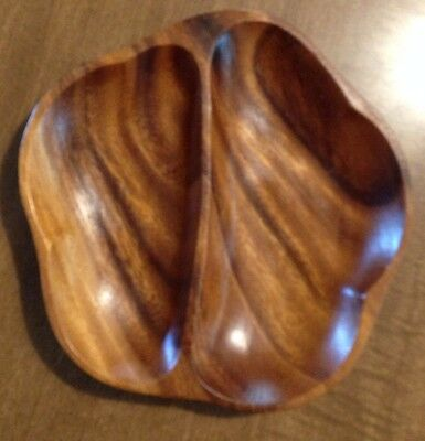 Wood Carved Trinket Bowl Plate Philippines