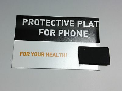 Shungite protective plate for phone 25x15mm
