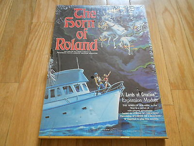 LORDS OF CREATION - The Horn of Roland BOX - juego rol - Avalon Hill 8581 RPG