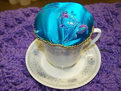 cup and saucer pin cushion