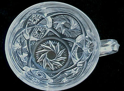 Old EAPG Early American Glass Punch Cup - Does this match your bowl / set ?