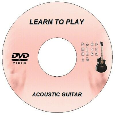 New Learn The Acoustic Guitar Step By Step Lessons Tutorial Guide Dvd