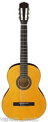 Aria Fiesta 4/4 Classical Guitar, Natural, neck truss rod