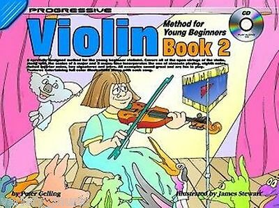 Progressive Violin Method for Young Beginners: Book 2 includes Cd