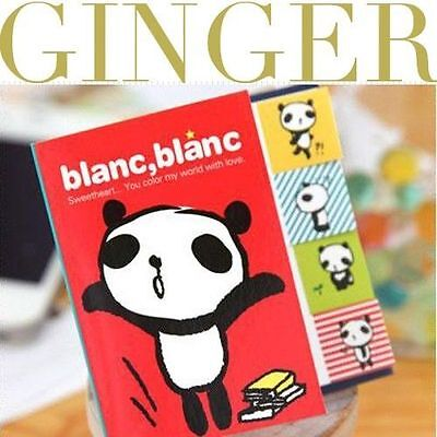 Blanc Panda Type Sticker Post It Bookmark Point Marker Memo Flags Sticky Notes