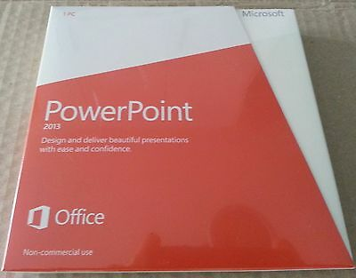 Microsoft PowerPoint 2013 - Non Commercial Use