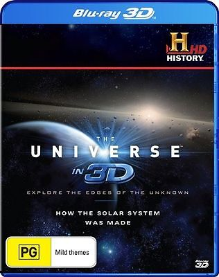 The Universe In 3D - How The Solar System Was Made (Blu-ray, 2013) Region B