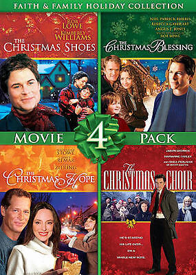 Gaiam Americas Faith & Family Holiday Collection-movie 4 Pack, 356 min (DVD NEW)