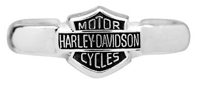 Harley-Davidson Bar & Shield Sterling Silver Toe Ring HDT0002