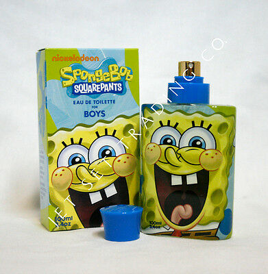 Spongebob 3.4Oz Boys Fragrance / 3.4Oz Children's Eau De Toilette (New)