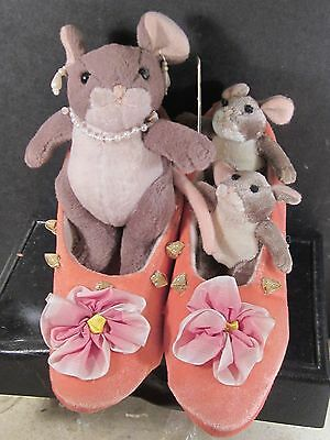Charming Tails Plush MOM YOU'RE BEAUTIFUL Mouse Family Stuffed 94/110