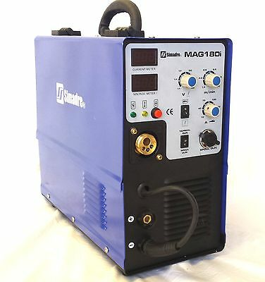 SIMADRE MIG180i 180AMP IGBT MIG WELDER with SPOOL GUN and MIG TORCH