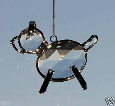 Collectible Jewel Dog Sun Catcher