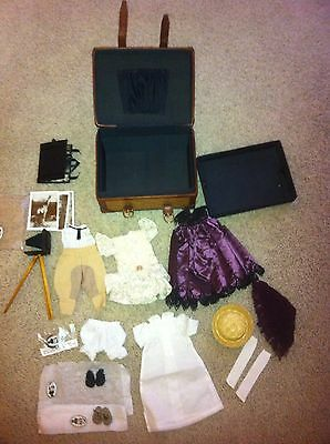 """WENDY LAWTON """"AFRICAN SAFARI""""  GRAND TOUR  TRUNK WITH ACCESSORIES/CLOTHES"""