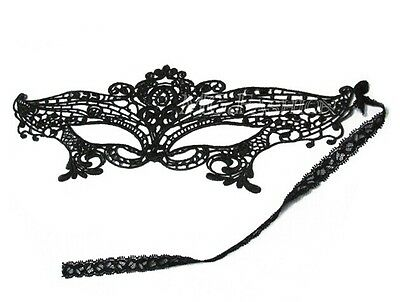 Fancy Sexy Costume Lace Eye Flower Mask Venetian Masquerade Ball Party Halloween