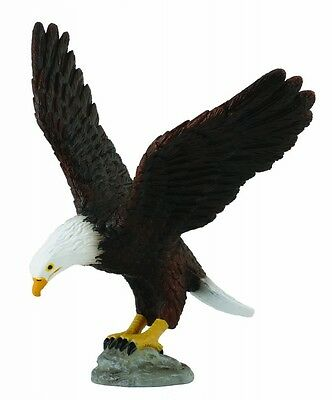 AMERICAN BALD EAGLE BIRD TOY MODEL by COLLECTA 88383 *NEW WITH TAG*