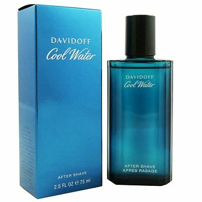 Davidoff Cool Water Man - Men 75 ml Aftershave After Shave AS