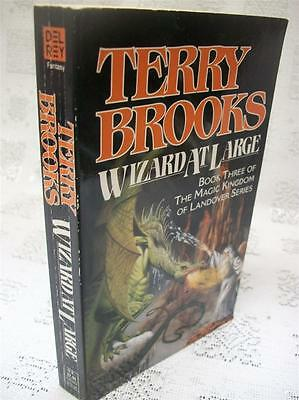 Wizard At Large by Terry Brooks 1989 SB.