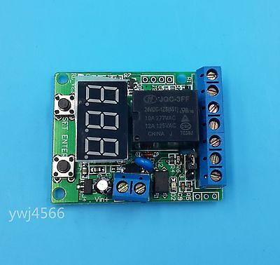 24V Voltage detection control delay/Upper and lower voltage range control switch