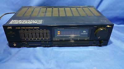 JVC AX-S331BK Stereo Integrated Amplifier 7 Band Graphic Equalizer AX-S331 Lot B