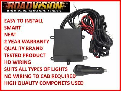 Remote Control Driving Light Wiring Harness Led Hid Halogen Roadvision