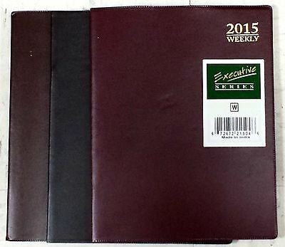 2015 Executive Series Weekly Planner appointment Book - 8 in x 10 in
